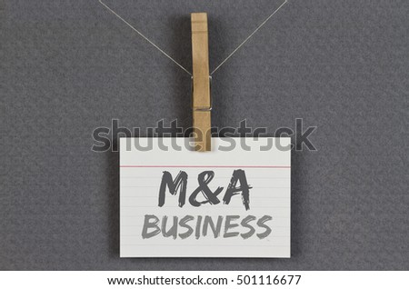 M&A Business
