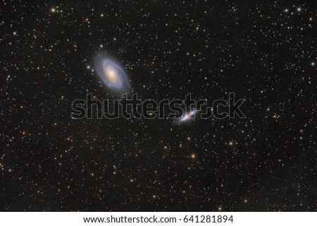 M81 and M82 Cigar galaxy