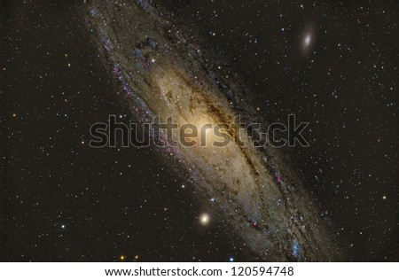 M31 Andromeda Galaxy - stock photo