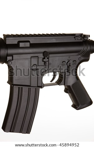 M4 Assault Rifle on a white background