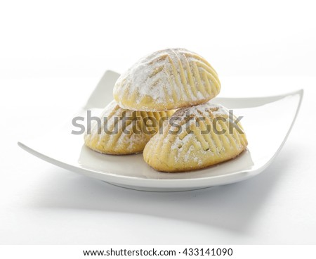 Ma'amoul - turkish dessert - stock photo