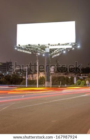 Ma roadside billboards - stock photo