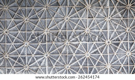 Mable mosaic tile background - stock photo