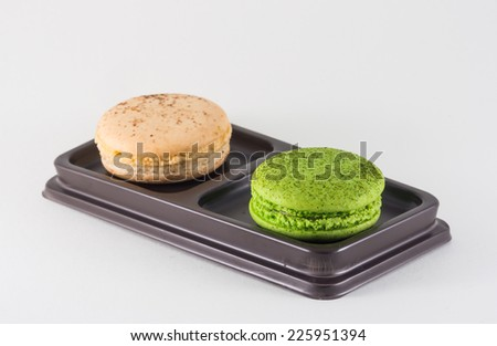Macaron on isolate background