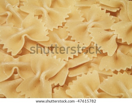 Macaroni pasta useful as a background