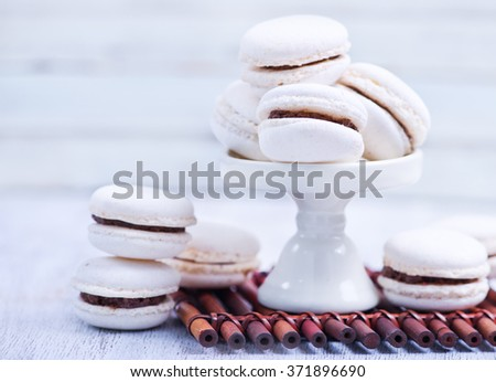 macaroons - stock photo