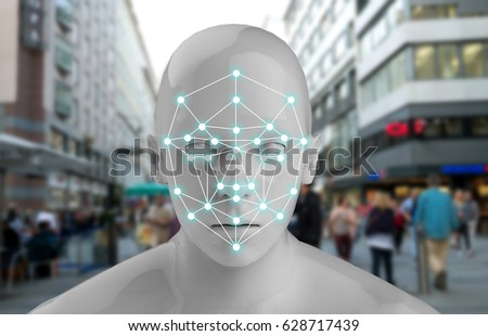 Machine Learning Systems Accurate Facial Recognition Stock