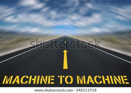 machine to machine concept