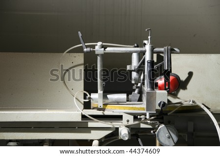Machine tools in workshop