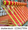 Machine woven silk Old-style thailand - stock photo