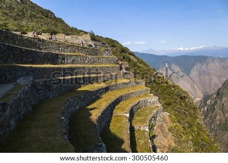 Machu Picchu, was designed Peruvian Historical Sanctuary in 1981 and a World Heritage Site by UNESCO in 1983.