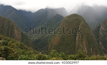 Machu Picchus Mountains
