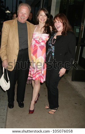 MacKenzie Firgens and her parents at a Special Industry Screening of 'Break'. Laemmle's Music Hall 3, Beverly Hills, CA. 05-01-09
