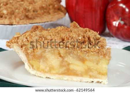 macro apple crisp shallow DOF - stock photo