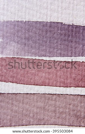 Macro Brown and White Watercolour Lines 8 - stock photo