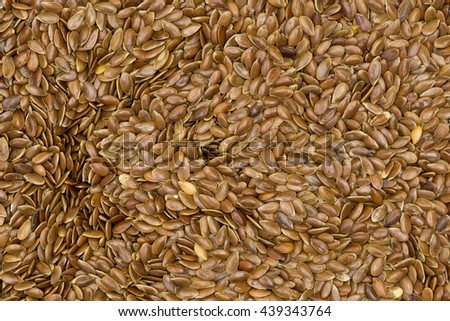 Macro Flex Dried Seeds as an Abstract Background Texture from Top View