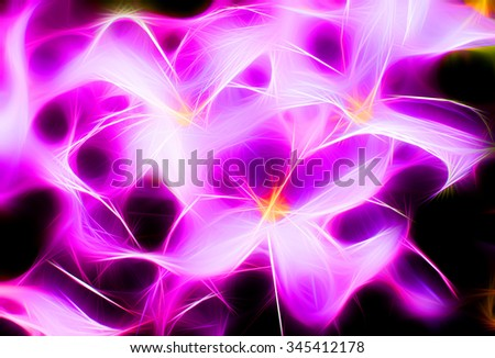 Macro image of spring lilac violet flowers, abstract floral background