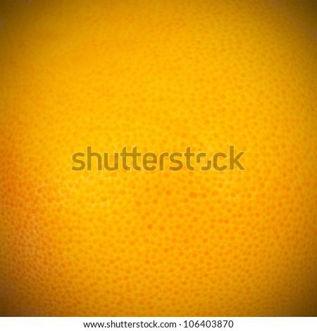 Macro photo of grapefruit texture - stock photo