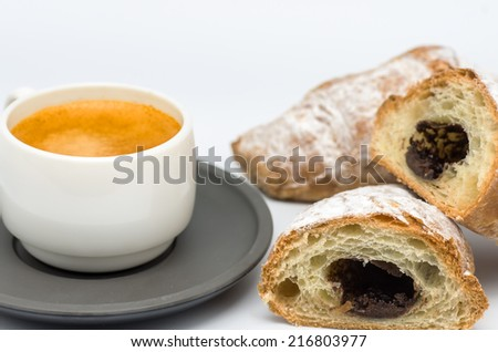 macro photograph of a full breakfast and nutritious