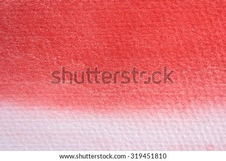Macro Red Watercolor 5 - stock photo