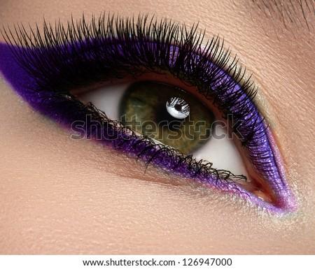 Extremely Long Eyelashes