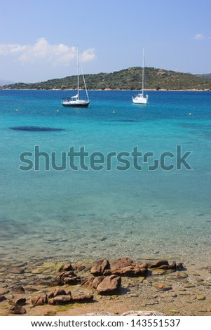 Maddalena island of Caprera garibaldi one of the most beautiful Sardinian islands nature reserve Sardinia Italy unmistakable landscapes beautiful beaches and pink granite rocks
