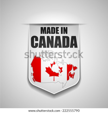 Made in Canada - stock photo