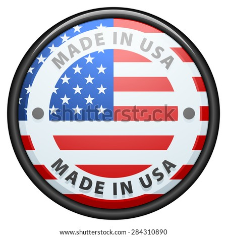 Made in USA - stock photo