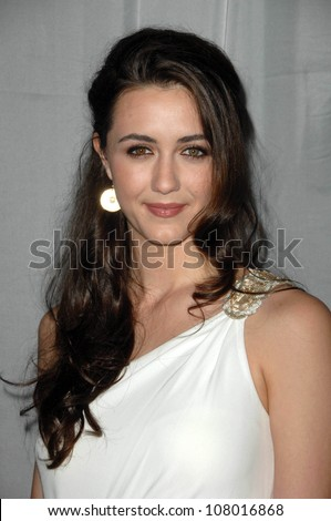 Madeline Zima  at the 35th Annual Vision Awards. Beverly Hilton Hotel, Beverly Hills, CA. 06-12-08