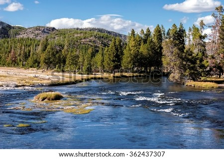 Madison River, Wyoming