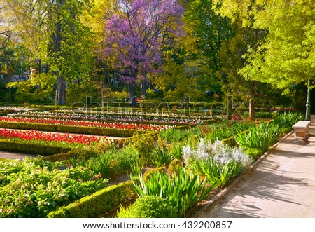 Royal botanic gardens stock images royalty free images for Jardin botanico madrid conciertos