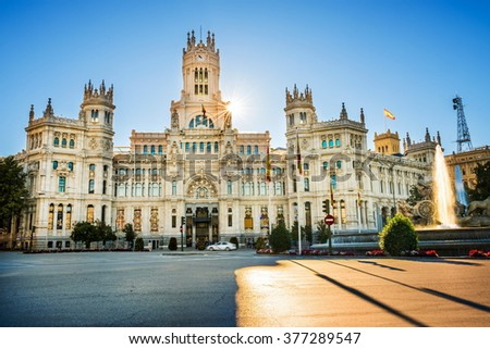 Madrid city - shots of Spain - Travel Europe