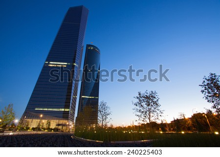 cuatro torres business area is a business