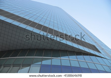 MADRID, SPAIN - MAY 19: The Four Towers financial center on May 19, 2016 in Madrid, Spain.