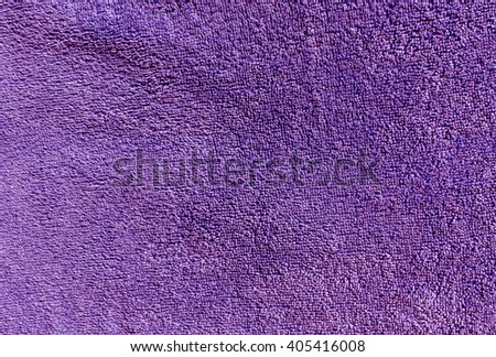 Magenta bath towel texture. Background and texture for design. - stock photo