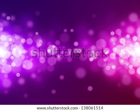 magenta bokeh abstract light backgrounds - stock photo