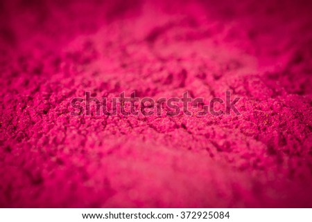 Magenta colour toner for printer - stock photo