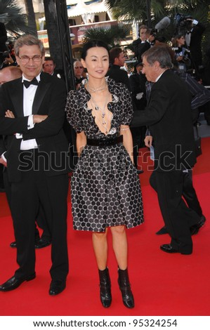 "Maggie Cheung at screening for ""No Country for Old Men"" at the 60th Annual International Film Festival de Cannes.  May 19, 2007  Cannes, France.  2007 Paul Smith / Featureflash"