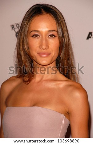 Maggie Q at the Los Angeles Special Screening of 'The September Issue'. LACMA, Los Angeles, CA. 09-08-09