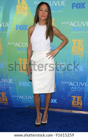 Maggie Q at the 2011 Teen Choice Awards, Universal Amphitheater, Universal City, CA. 08-07-11