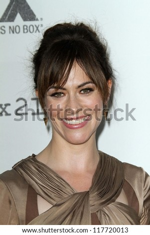 "Maggie Siff at the ""Sons of Anarchy"" Season 5 Premiere, Wadsworth Theater, Santa Monica, CA 09-08-12"