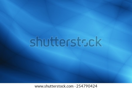 Magic backdrop abstract blue illustration graphic design - stock photo