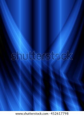 Magic background blue technology pattern backdrop design - stock photo