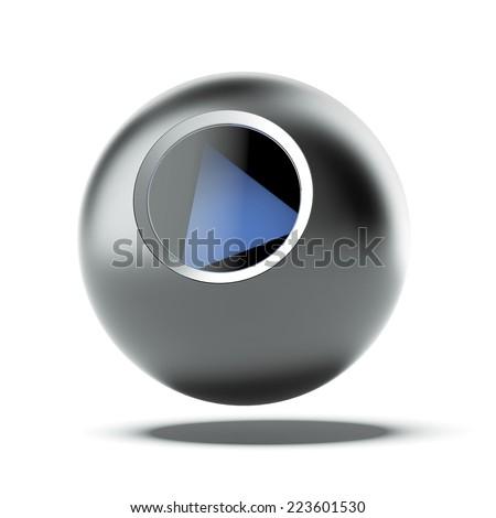 Magic 8 Ball - stock photo