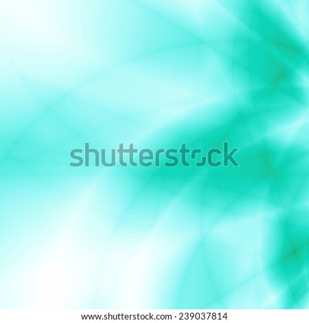 Magic burst energy blue green abstract background - stock photo