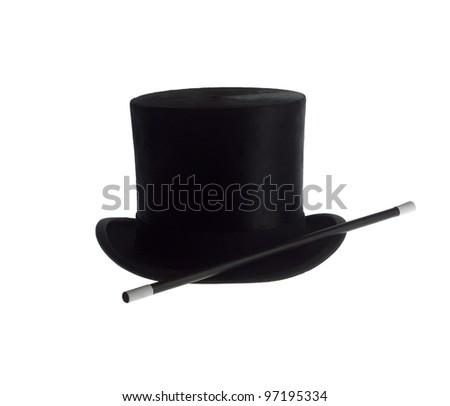 Magic Equipment isolated on white background - stock photo