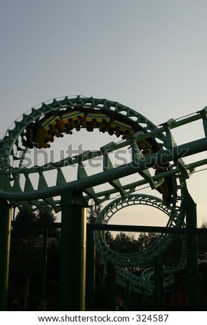 magic mountain 2 - stock photo