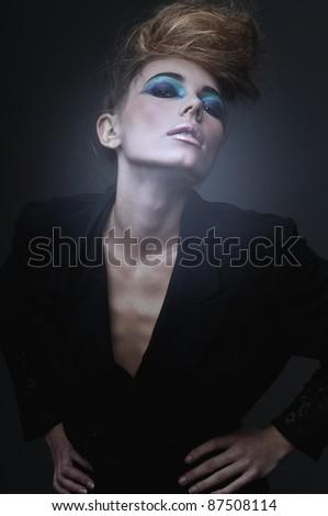 Magic women - stock photo