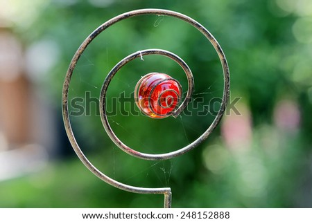 Magical coil - stock photo