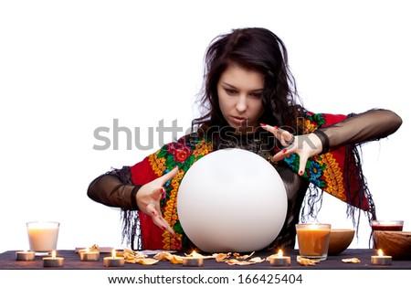 Magican concept - stock photo